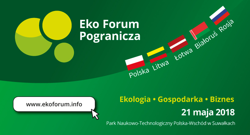 Kancelaria AOMB będzie uczestniczyła w konferencji 'Eko Forum Pogranicza'